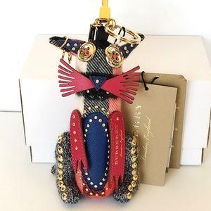 Burberry Rufus Cat Key charm / bag charm